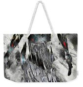 Angel Of Winter Weekender Tote Bag
