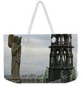 Angel Over Paris Weekender Tote Bag