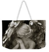 Angel Photography Spiritual Angel  - Guardian Angel In Prayer - Angel Praying  Weekender Tote Bag