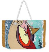 Angel Playing For Us No1 Weekender Tote Bag