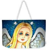 Angel Sheltering Seven Swans Weekender Tote Bag