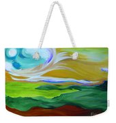 Angel Sky Green By Jrr Weekender Tote Bag