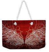 Angel Wings Crimson Weekender Tote Bag
