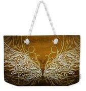 Angel Wings Gold Weekender Tote Bag