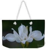 Angel Wings Iris Weekender Tote Bag