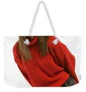 Angela Plaid Skirt Weekender Tote Bag