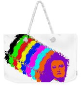 Angela Rainbow-2 Weekender Tote Bag