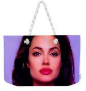Angelina Jolie Beautiful Lips Weekender Tote Bag