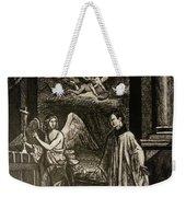 Angels And Saints Weekender Tote Bag