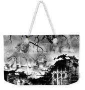 Angels In Gothica Bw Weekender Tote Bag