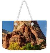 Angel's Landing In Fall - Zion National Park  Weekender Tote Bag
