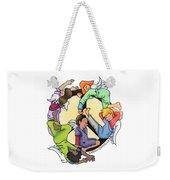 Angels Of Peace Weekender Tote Bag by Sarah Batalka
