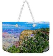 Angel's Window At Cape Royal On North Rim Of Grand Canyon-arizona Weekender Tote Bag
