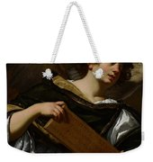 Angels With Attributes Of The Passion Weekender Tote Bag