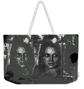 Angie Dickinson At Window Rain Collage Young Billy Young Set  Old Tucson Arizona 1968-2013 Weekender Tote Bag