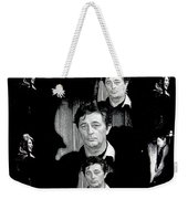 Angie Dickinson Robert Mitchum Collage Young Billy Young Set Old Tucson Arizona 1968-2013 Weekender Tote Bag