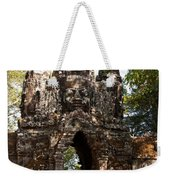 Angkor Thom North Gate 01 Weekender Tote Bag
