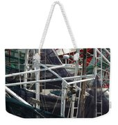 Angles And Iron Weekender Tote Bag