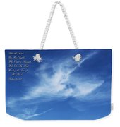 Angels In The Sky Weekender Tote Bag