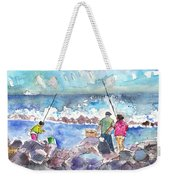 Angling In Gran Canaria Weekender Tote Bag