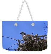 Angry Bird Weekender Tote Bag