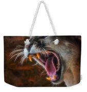 Angry Cougar Weekender Tote Bag