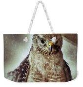 Angry Hawk Weekender Tote Bag