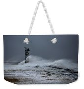 Angry Ocean In Ocean City Weekender Tote Bag