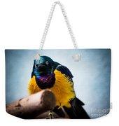 Angry Sunbird Weekender Tote Bag