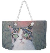 Anguish Of A Cat Weekender Tote Bag