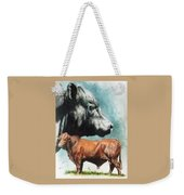 Angus Cattle Weekender Tote Bag
