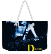 Angus Creates Decibel Celebrations In Blue Weekender Tote Bag