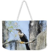 Anhinga And Spanish Moss Weekender Tote Bag