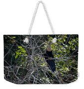 Anhinga In Brush Weekender Tote Bag