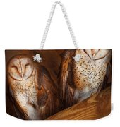 Animal - Bird - A Couple Of Barn Owls Weekender Tote Bag