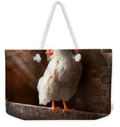 Animal - Chicken - Lost In Thought Weekender Tote Bag