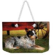 Animal - Dog - Always Faithful Weekender Tote Bag by Mike Savad