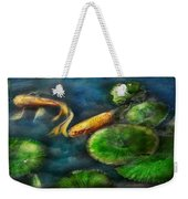 Animal - Fish - The Shy Fish  Weekender Tote Bag by Mike Savad