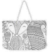 Animal Fox 4 Weekender Tote Bag by MGL Meiklejohn Graphics Licensing