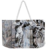 Animal Gargoyles Duomo Di Milano Italia Weekender Tote Bag