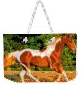 Animal Portrait The Horse Weekender Tote Bag