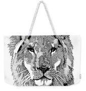 Animal Prints - Proud Lion - By Sharon Cummings Weekender Tote Bag