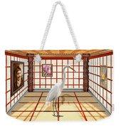 Animal - The Egret Weekender Tote Bag by Mike Savad