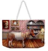 Animal - The Pony Weekender Tote Bag by Mike Savad