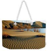 Animal Tracks In The Sand Weekender Tote Bag