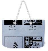 Animation Patent Weekender Tote Bag