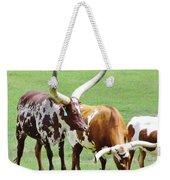 Ankole And Texas Longhorn Cattle Weekender Tote Bag
