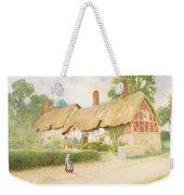 Ann Hathaway's Cottage Weekender Tote Bag