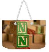 Anna - Alphabet Blocks Weekender Tote Bag