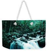 Anna Ruby Falls Watercolor Effect Weekender Tote Bag